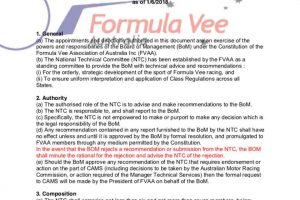 UPDATE: Technical – NTC Term of Reference (ToR)